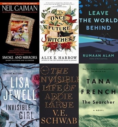 Goodreads: Most Popular Books - October, 2020