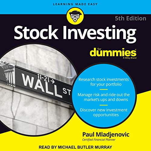 Stock Investing For Dummies: 5th Edition (Audiobook)