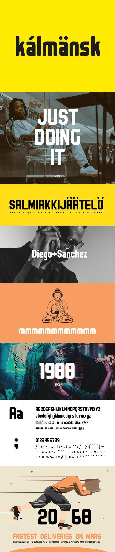 Kalmansk Typeface