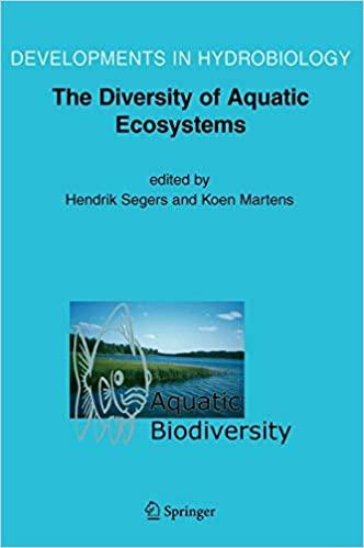 Aquatic Biodiversity II: The Diversity of Aquatic Ecosystems