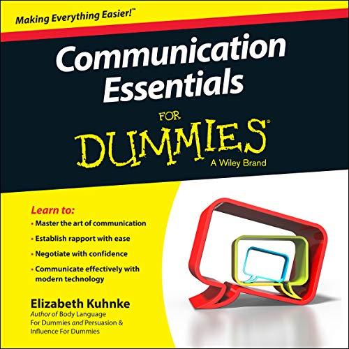 Communication Essentials for Dummies (Audiobook)