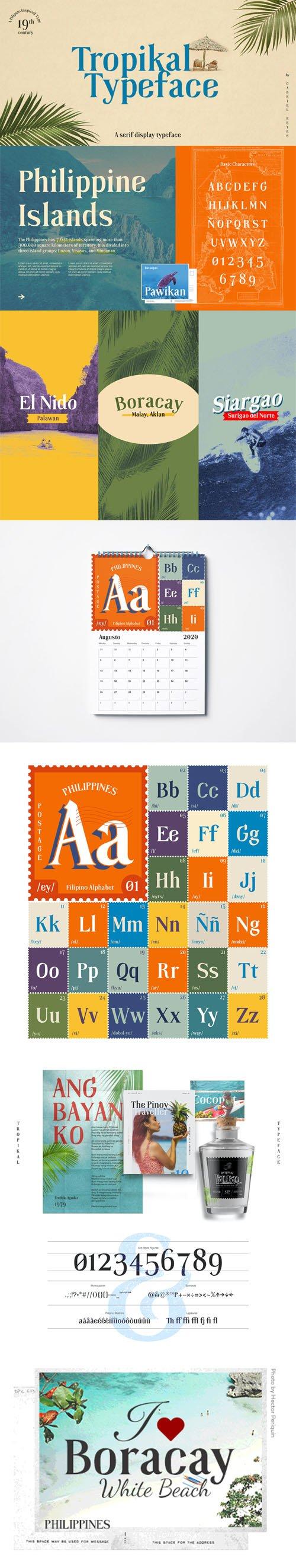 Tropikal - Serif Display Typeface