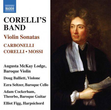 Augusta McKay Lodge, Adam Cockerham & Elliot Figg   Corelli's Band: Violin Sonatas (2020) MP3
