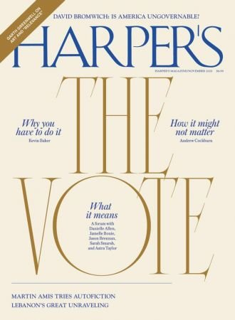 Harper's Magazine   November 2020