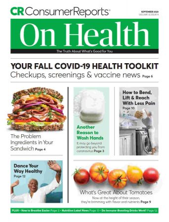Consumer Reports On Health   September 2020