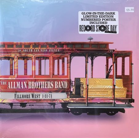 The Allman Brothers Band ‎- Fillmore West 1 31 71 (2020)