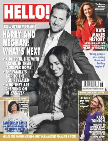 Hello! Magazine UK   02 November 2020