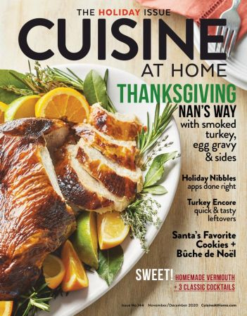 Cuisine at Home - November/December 2020 (TRue PDF)
