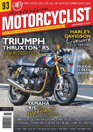 Australian Motorcyclist   November 2020