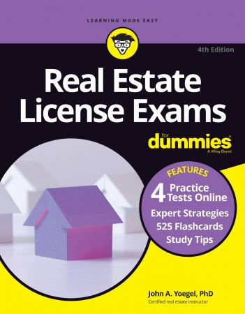 Real Estate License Exams For Dummies with Online Practice Tests, 4th Edition