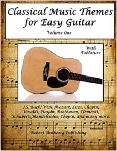 Classical Music Themes for Easy Guitar