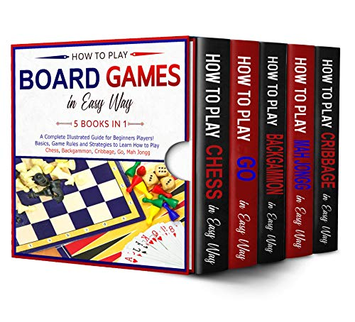 How to Play Board Games In Easy Way 5 Books in 1