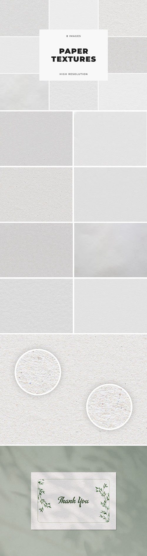 8 Paper Textures Kit