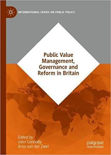 Public Value Management, Governance and Reform in Britain