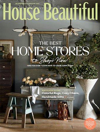 House Beautiful USA   December 2020/January 2021