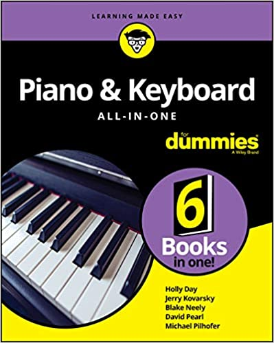 Piano & Keyboard All in One For Dummies, 2nd Edition (True PDF)