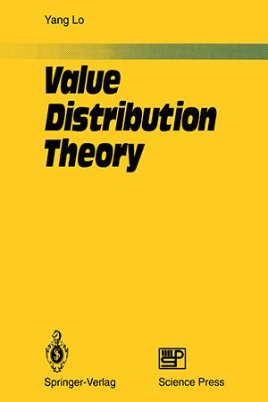 Value Distribution Theory by Yang Lo
