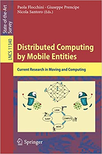 Distributed Computing by Mobile Entities: Current Research in Moving and Computing