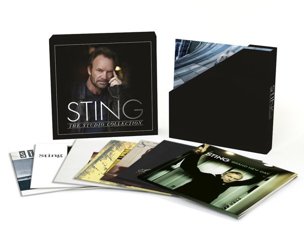 Sting   The Studio Collection [8LP Box Set] (2016) MP3