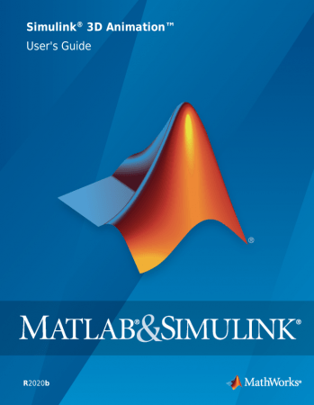 Simulink 3D Animation User's Guide 2020