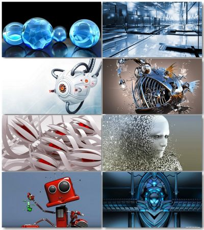 3D Graphics Pictures (Pack 2)