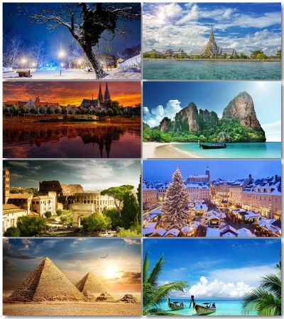 Travel & Leisure Wallpapers (Pack 3)