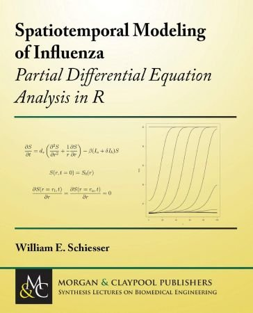 Spatiotemporal Modeling of Influenza: Partial Differential Equation Analysis in R