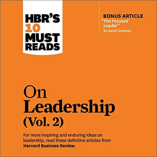 HBR's 10 Must Reads on Leadership, Vol. 2 [Audiobook]