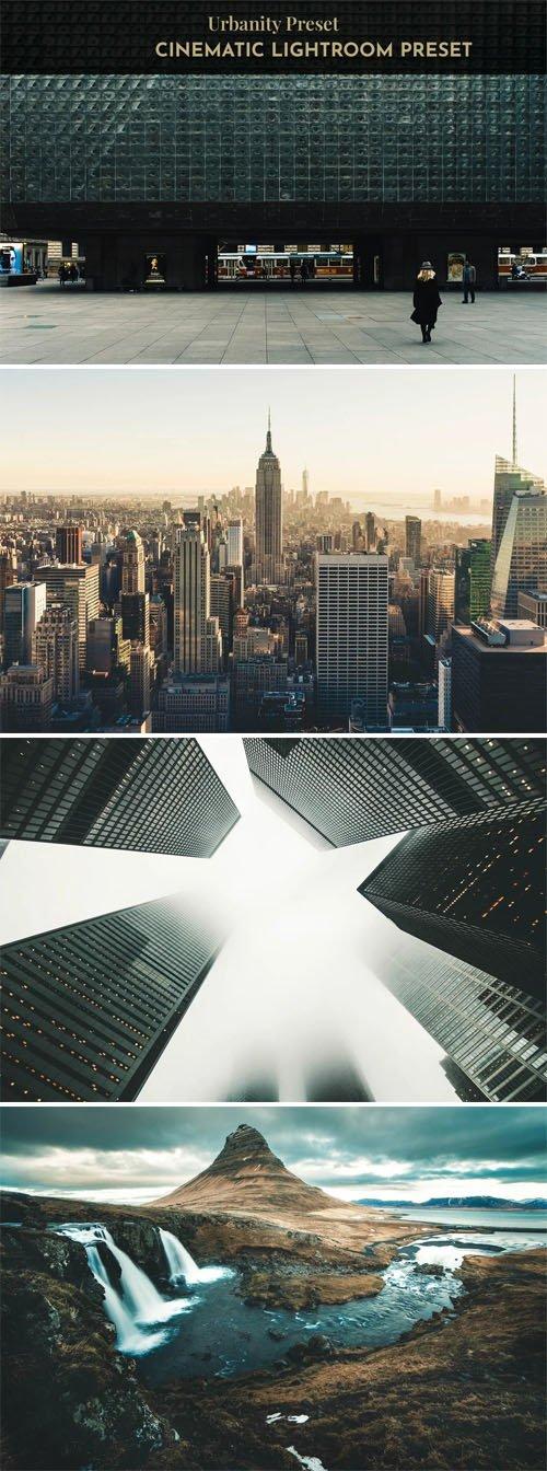 Urbanity Cinematic Presets for Lightroom ( Desktop + Mobile )