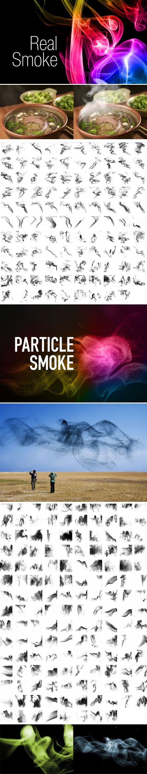 250+ Smoke Photoshop Brushes Collection
