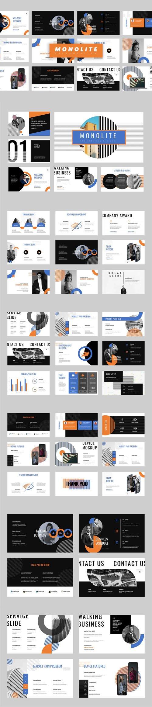 Monolite - Education [PowerPoint - Keynote - Google Slides] Presentations