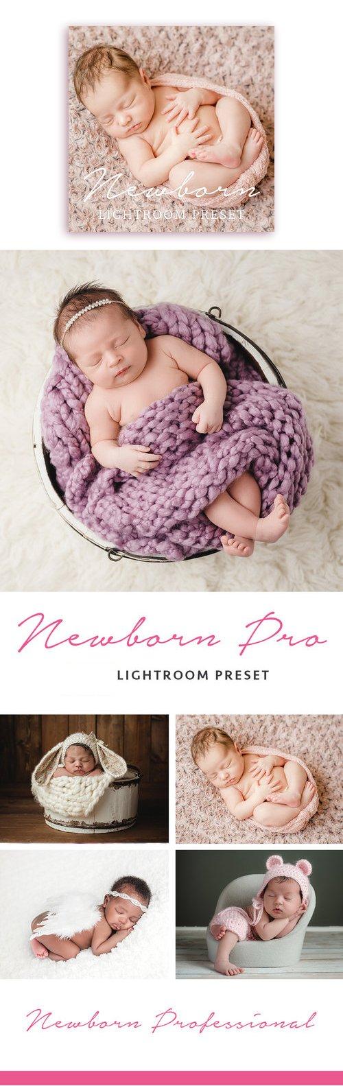 Creamy Skin - Newborn Baby Photography Lightroom Preset (Mobile & Desktop)