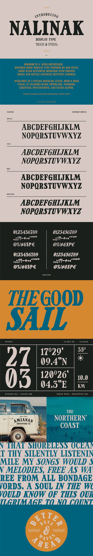 Nalinak - Rounded Serif Display Typeface [4-Weights]