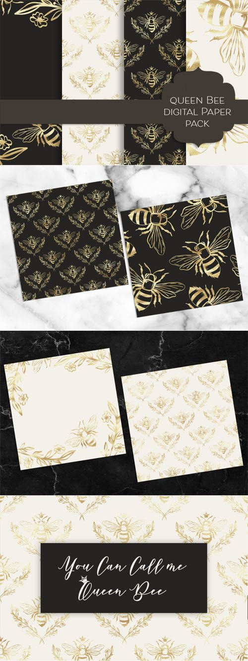 Queen Bee Textures Collection