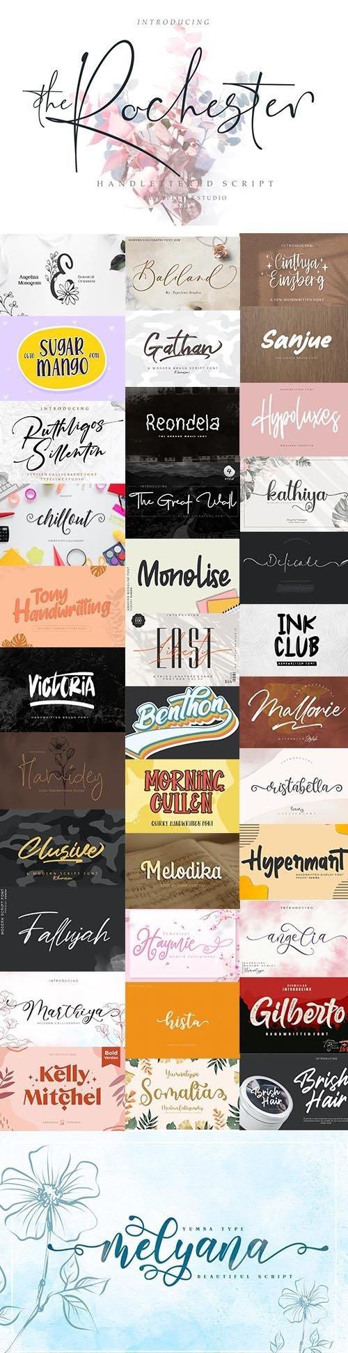 36 Super Fonts Pack - July 2020 - Vol.3