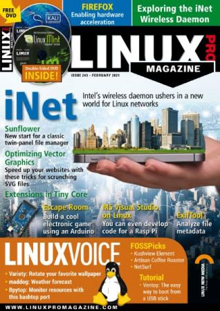 Linux Magazine USA   Issue 243, February 2021