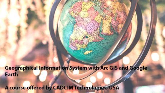 Geographical Information System with Arc GIS & Google Earth