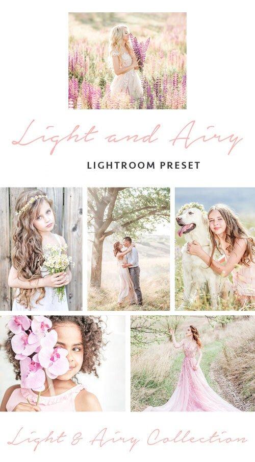 Light & Airy Lightroom Preset (Desktop/Mobile)