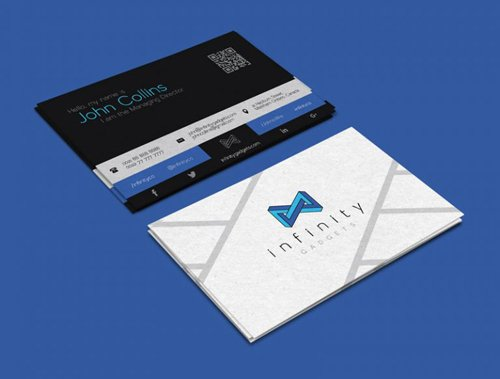 Modern Business Card Design & Logo Vector Templates