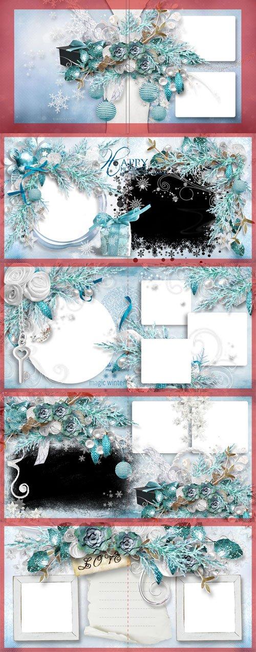 Beautiful Photo Album - Winter's Tale