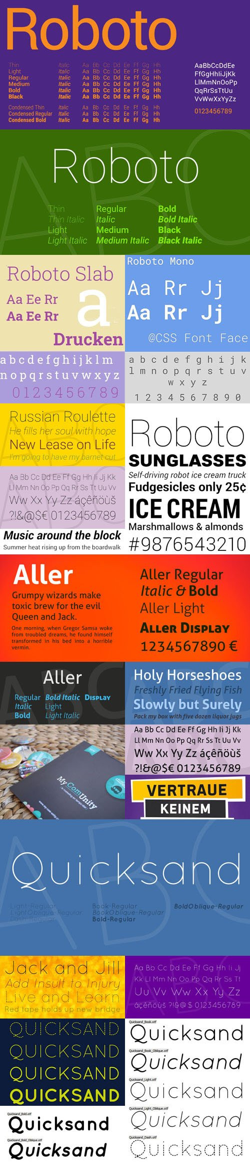 Top 10 Fonts Collection + Webfonts