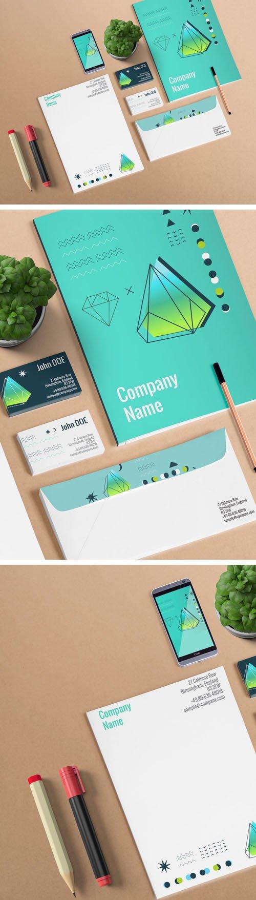 Pre Made Branding Scene PSD Mockups