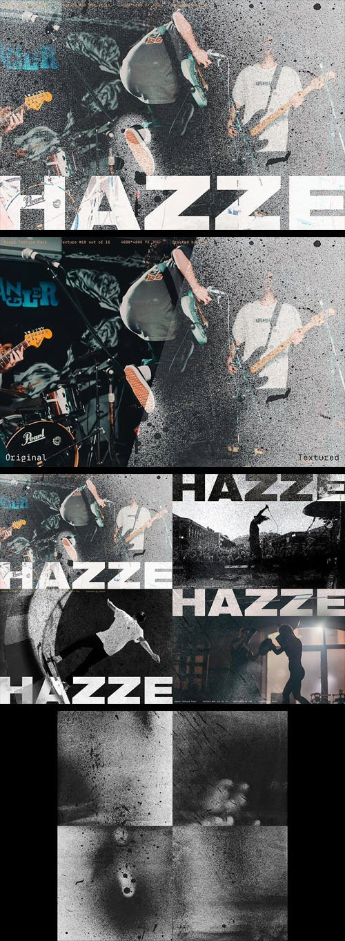 Hazze Pack - Grunge Textures Collection