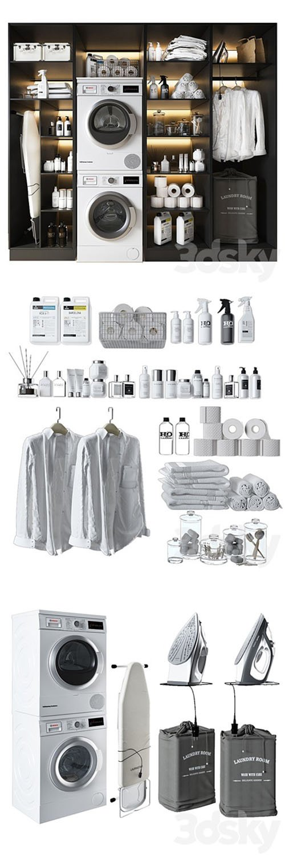Laundry Room - 3D Models [3ds Max]