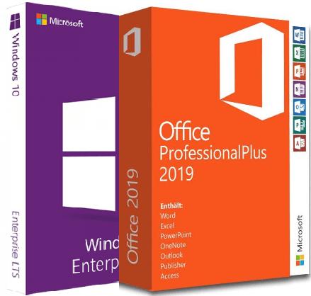 Windows 10 Enterprise 2019 LTSC 10.0.17763.2114 With Office 2019 Pro Plus Preactivated August 2021