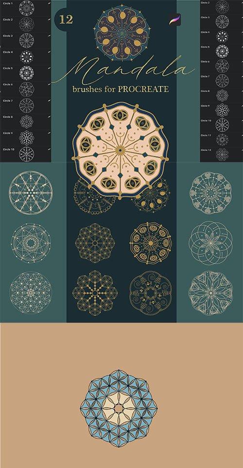Mandala Brushes for Procreate