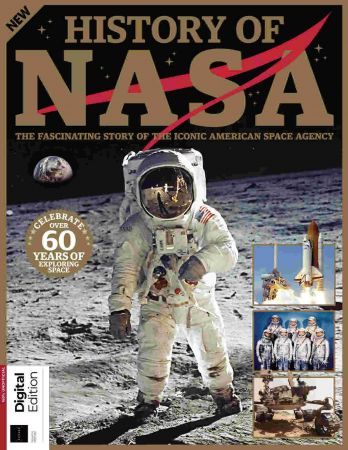 All About History History of NASA - 4th Edition, 2021