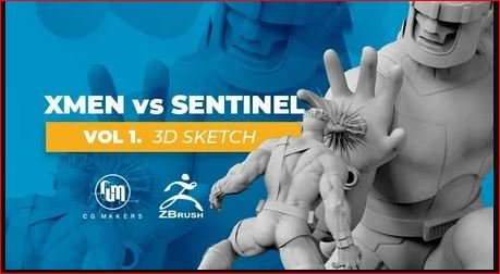 The X-Men Vs Sentinel Vol 1: Model 3D printing