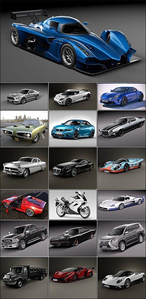 Nice Car Models Collection VI