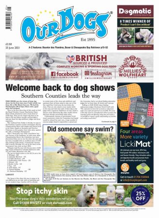 Our Dogs - 25 June 2021